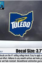 University of Toledo Color Shock Ohio Decal