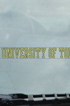 University of Toledo Xstatic Window Cling