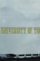 University of Toledo Xstatic Window Cling