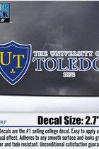 University of Toledo Decal Shield 1872