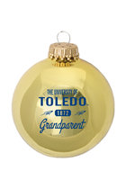 University of Toledo Glass Ball Grandparent Ornament