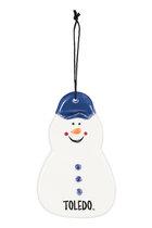 Toledo Snowman Christmas Ornament