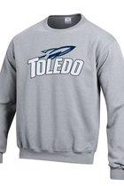University of Toledo Champion Powerblend Fleece Crew Neck Sweatshirt