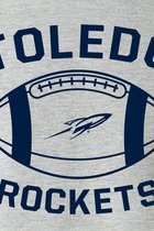 MV SPORT TOLEDO ROCKETS FOOTBALL TEE WHITE -S