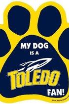 University of Toledo Paw Print Magnet