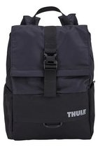 Thule Flat Top Departer Backpack Black w/ Blue Inside Accents