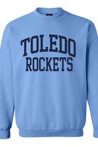 Toledo Rockets Comfort Fleece Crew Neck Sweatshirt