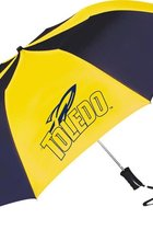 University of Toledo Large Folding Umbrella